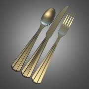 Gümüş Set 3d model