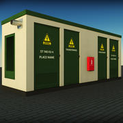 Elektrisches Kraftwerk 3d model