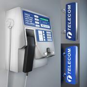 Betaal telefoon 3d model