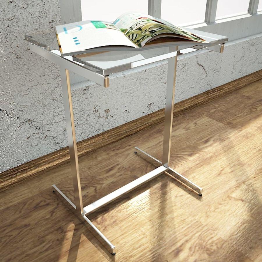 リビングルームテーブル royalty-free 3d model - Preview no. 2