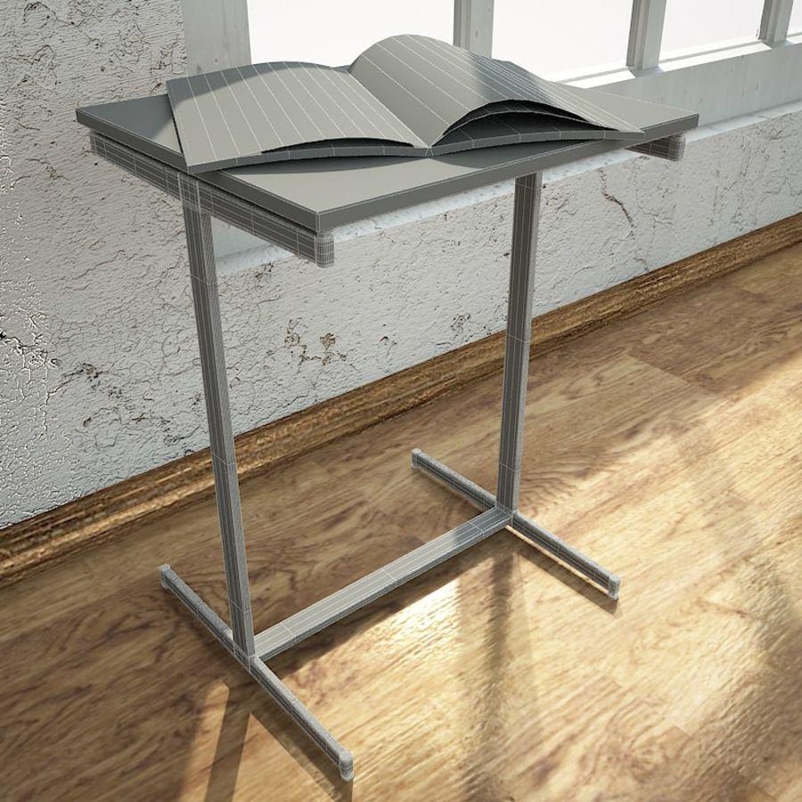 リビングルームテーブル royalty-free 3d model - Preview no. 3