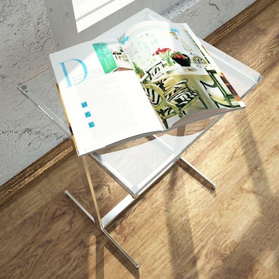 リビングルームテーブル royalty-free 3d model - Preview no. 4