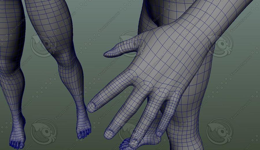 Męskiej anatomii człowieka High Poly royalty-free 3d model - Preview no. 4