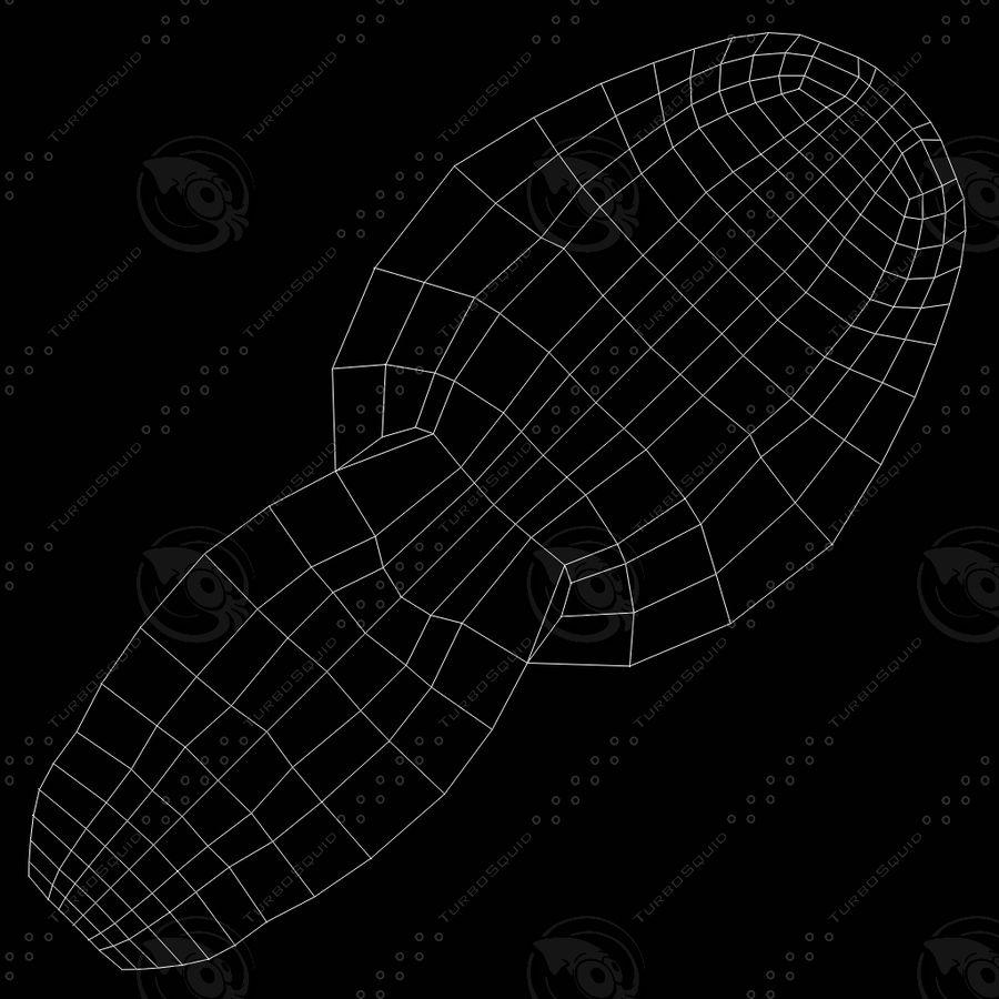 Męskiej anatomii człowieka High Poly royalty-free 3d model - Preview no. 9