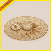Holiday Plate 3d model