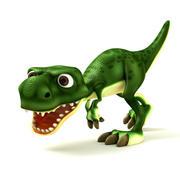 Cartoon Dino 3d model
