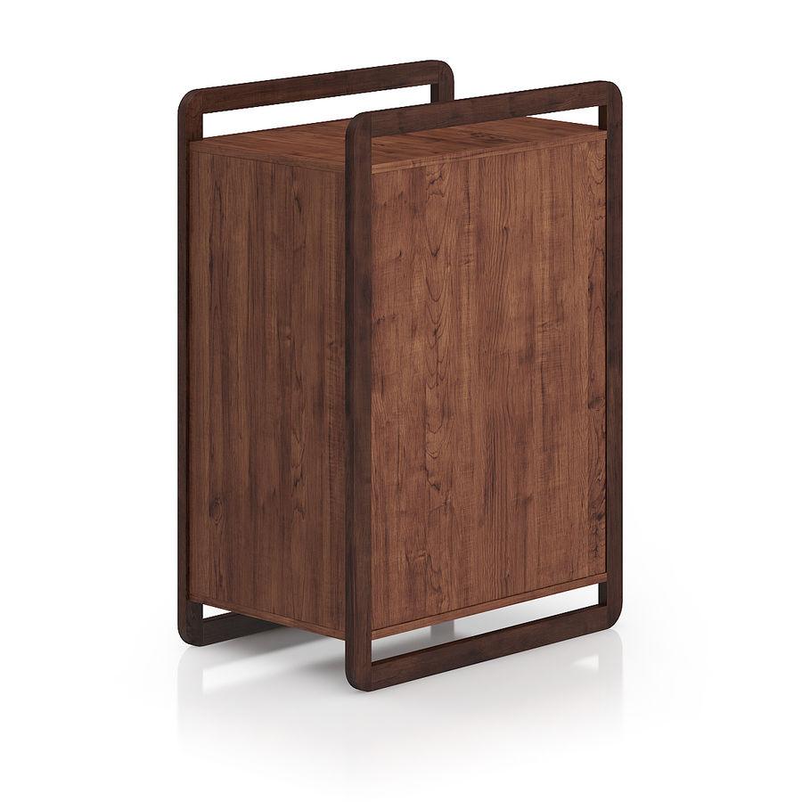 Gabinete de madera moderno royalty-free modelo 3d - Preview no. 3