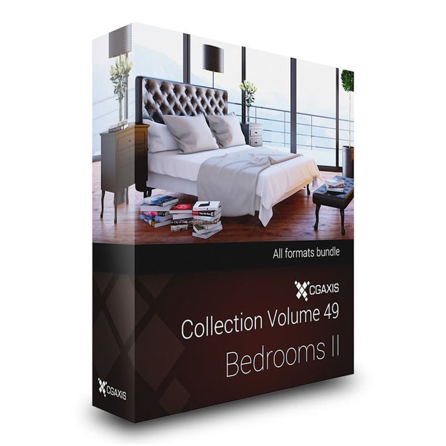 Gabinete de madera moderno royalty-free modelo 3d - Preview no. 5