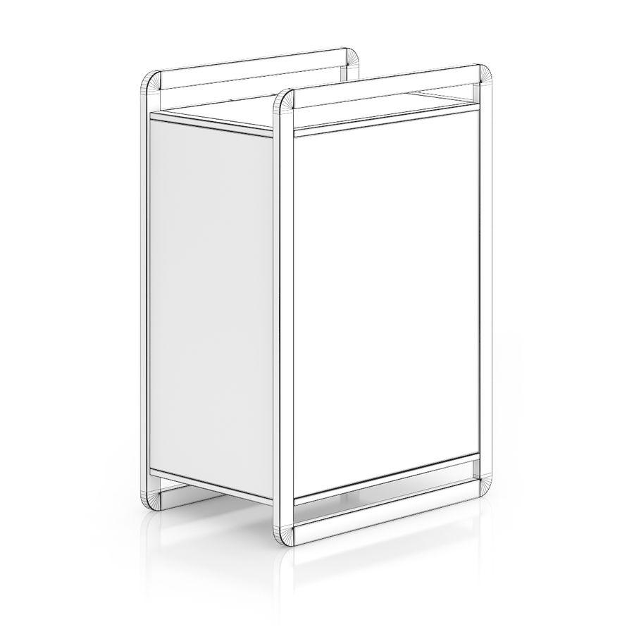 Gabinete de madera moderno royalty-free modelo 3d - Preview no. 4