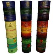 Waste Barrels Collection 3d model