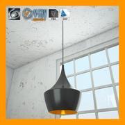 Lámpara de techo 3 modelo 3d