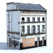 заброшенное здание + запеченный шадо 3d model