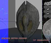 ArmorElvenShield 3d model