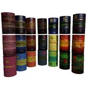 Barrels Collection 3d model