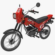 Rusça Moped ZiD-50 3d model