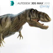 Giganotosaurus Rigged and Animated! 3d model