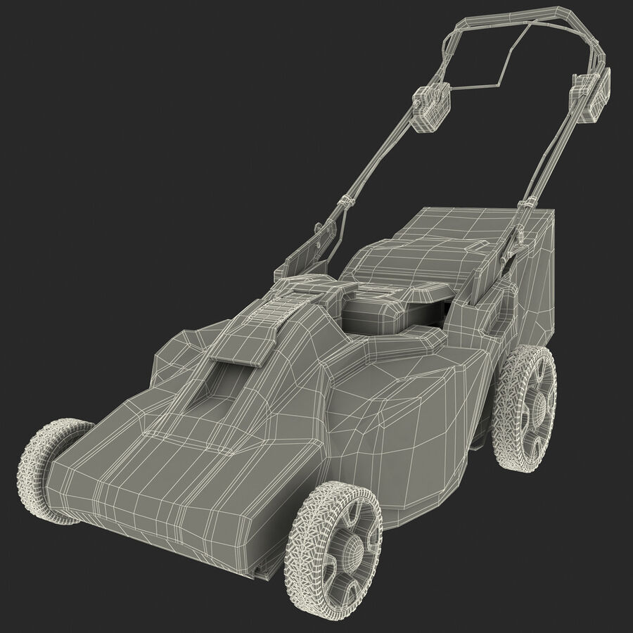 Yard Tool Collection royalty-free 3d model - Preview no. 28