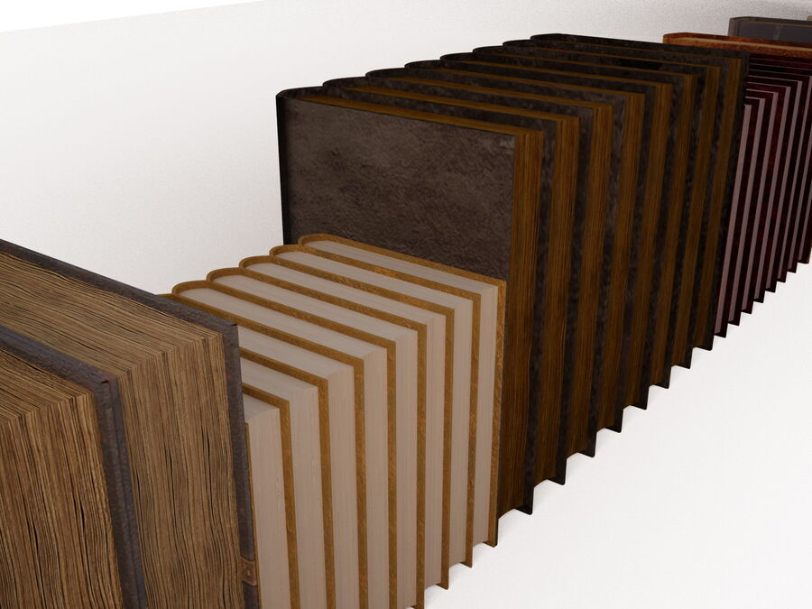 Books 1 royalty-free 3d model - Preview no. 78