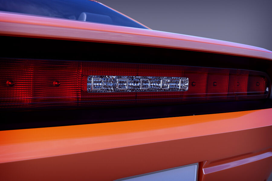 Dodge Challenger royalty-free modelo 3d - Preview no. 6