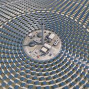 Thermo Solar PowerPlant 3d model