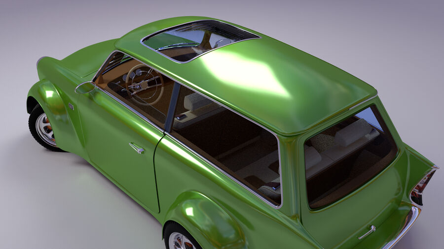 Custom car royalty-free 3d model - Preview no. 15