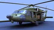 MH-60黑鹰 3d model