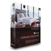 CGAxis 모델 볼륨 49 침실 II 3d model