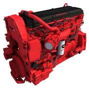 Heavy-Duty Diesel Engine ISX15 Cummins 3d model