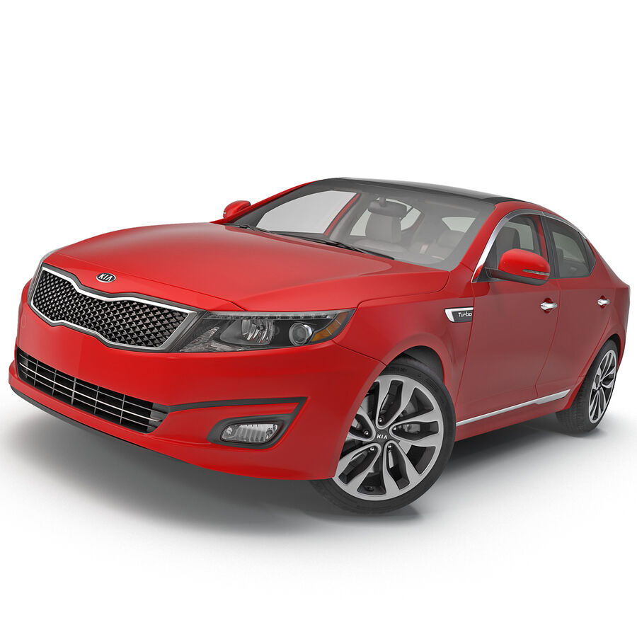 Kia Optima 2014 2 manipuliert royalty-free 3d model - Preview no. 2