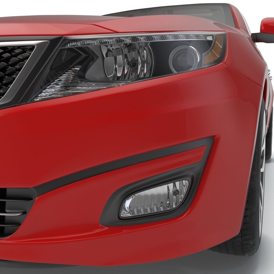 Kia Optima 2014 2 manipuliert royalty-free 3d model - Preview no. 63