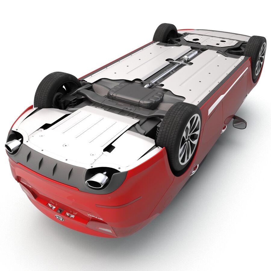 Kia Optima 2014 2 manipuliert royalty-free 3d model - Preview no. 25