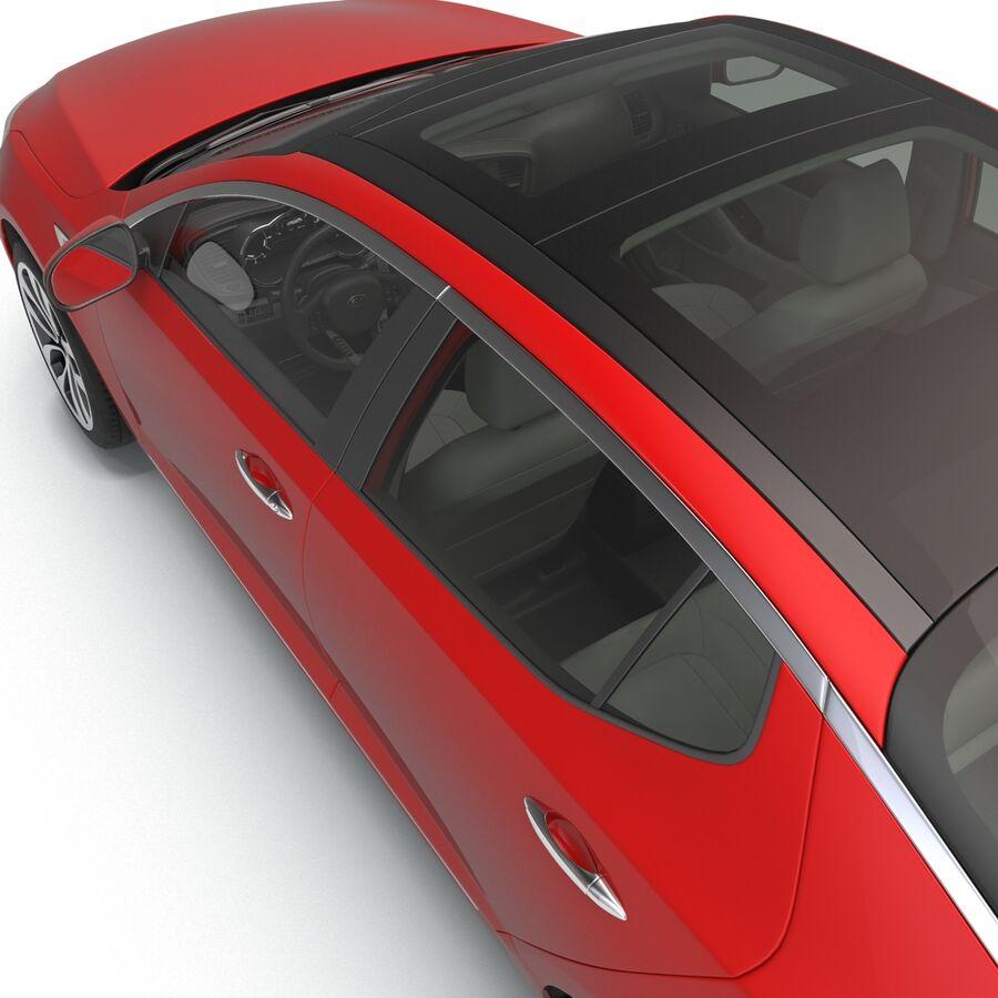 Kia Optima 2014 2 manipuliert royalty-free 3d model - Preview no. 69