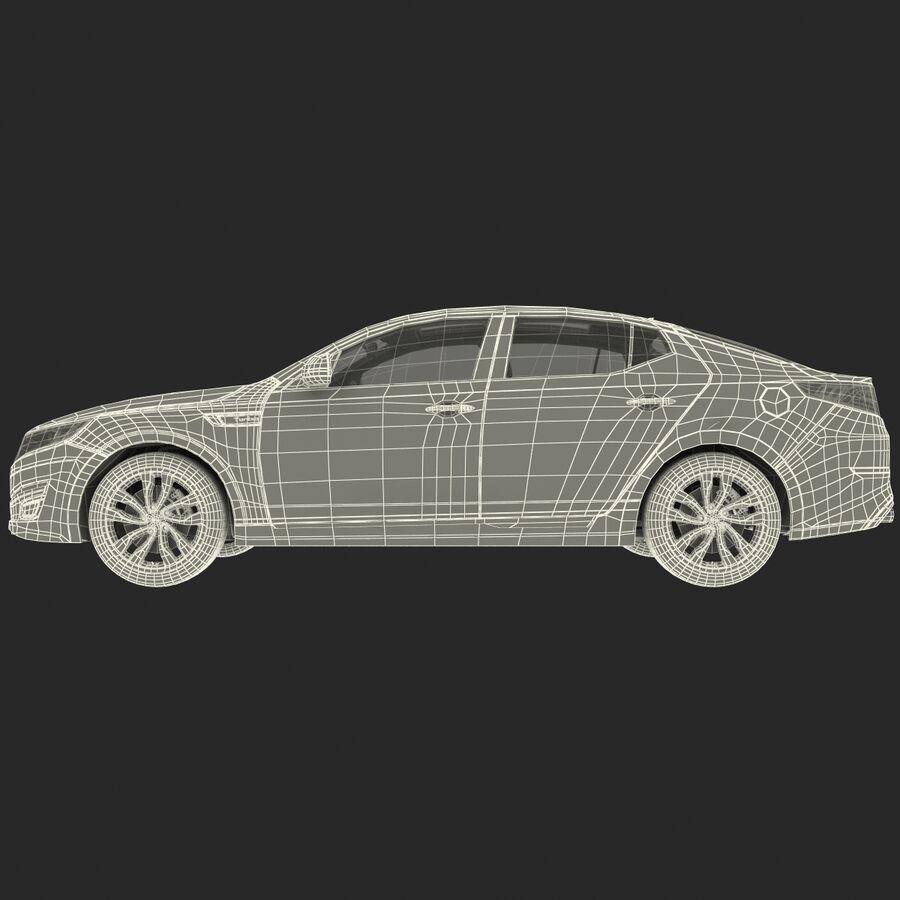 Kia Optima 2014 2 manipuliert royalty-free 3d model - Preview no. 94
