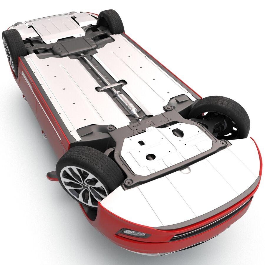 Kia Optima 2014 2 manipuliert royalty-free 3d model - Preview no. 28
