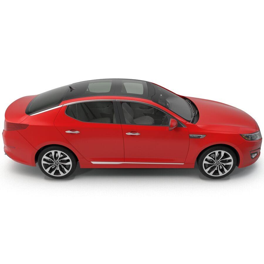 Kia Optima 2014 2 manipuliert royalty-free 3d model - Preview no. 19