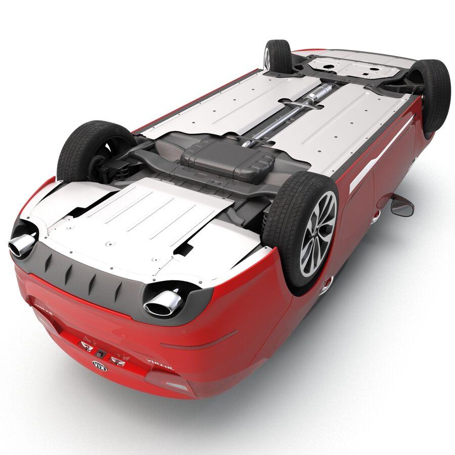 Kia Optima 2014 2 manipuliert royalty-free 3d model - Preview no. 26