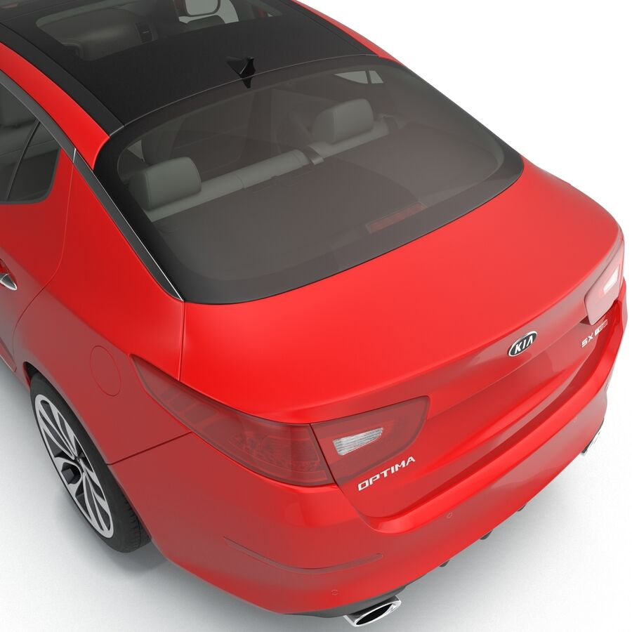 Kia Optima 2014 2 manipuliert royalty-free 3d model - Preview no. 54