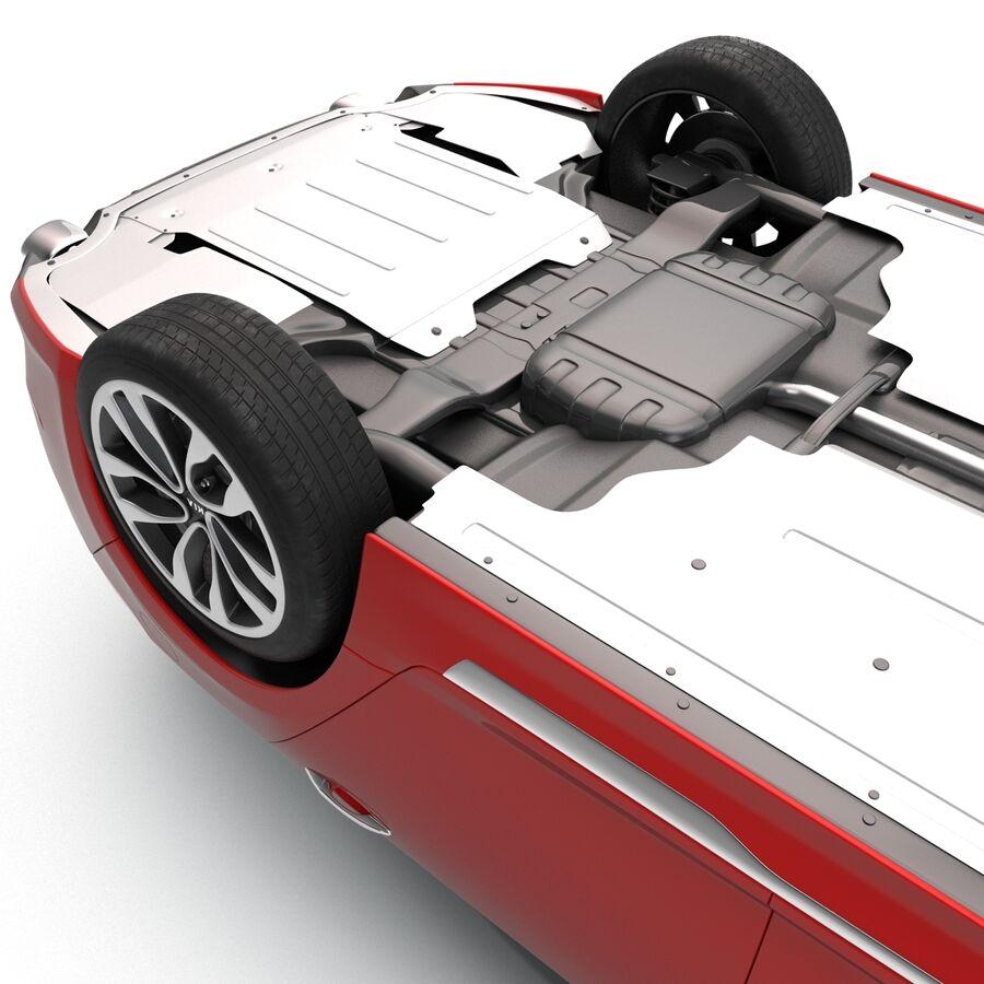 Kia Optima 2014 2 manipuliert royalty-free 3d model - Preview no. 29