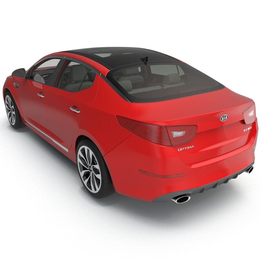 Kia Optima 2014 2 manipuliert royalty-free 3d model - Preview no. 50
