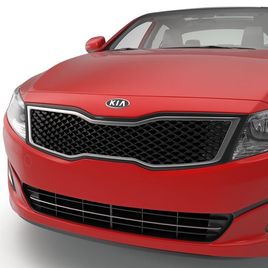 Kia Optima 2014 2 manipuliert royalty-free 3d model - Preview no. 64