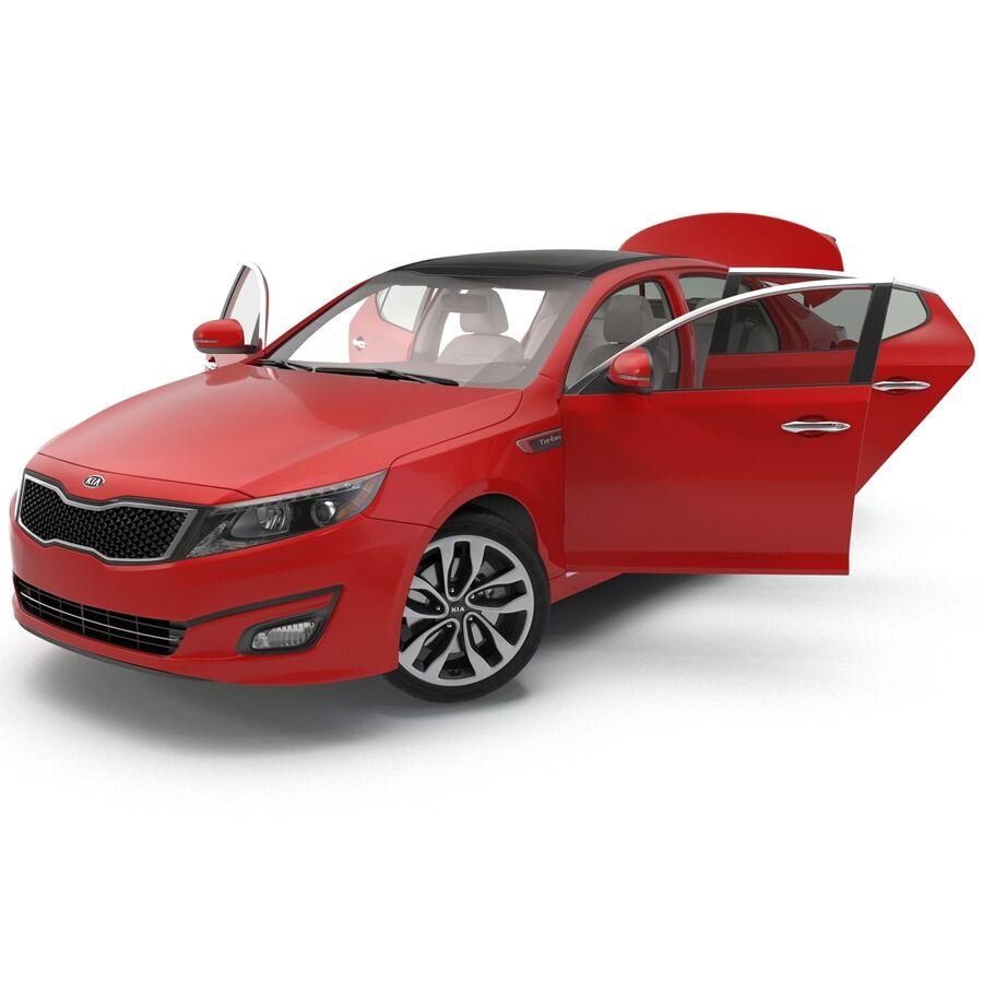 Kia Optima 2014 2 manipuliert royalty-free 3d model - Preview no. 39