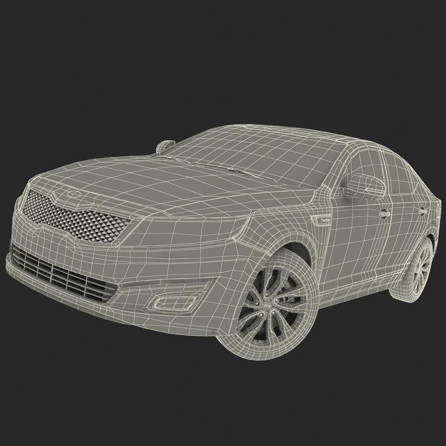 Kia Optima 2014 2 manipuliert royalty-free 3d model - Preview no. 92