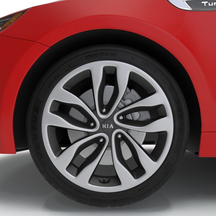 Kia Optima 2014 2 manipuliert royalty-free 3d model - Preview no. 66