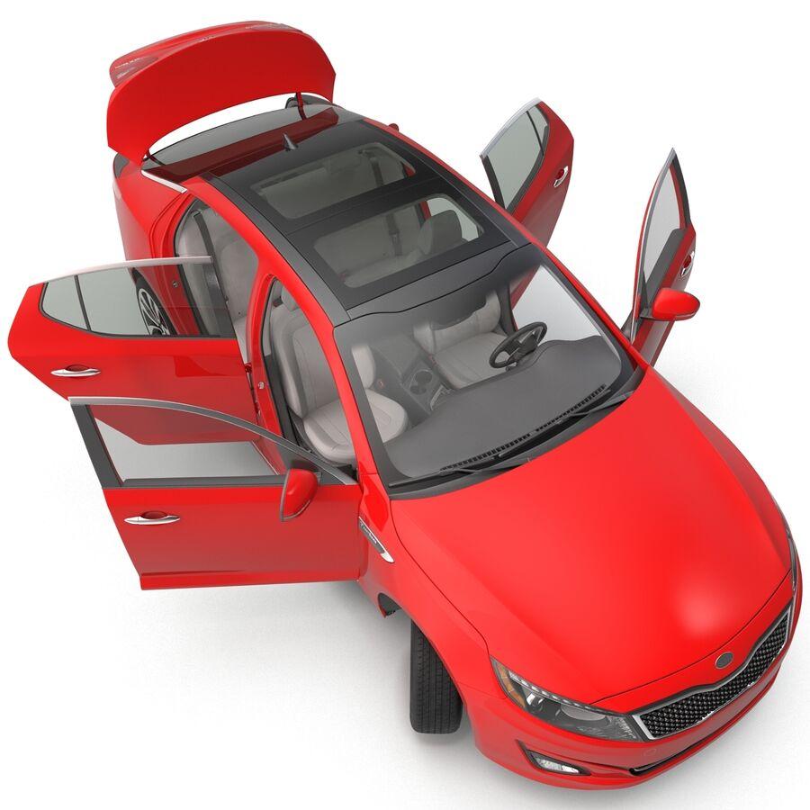 Kia Optima 2014 2 manipuliert royalty-free 3d model - Preview no. 42