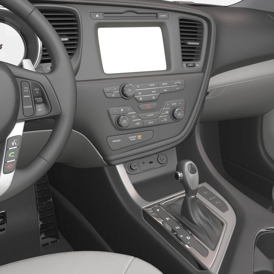 Kia Optima 2014 2 manipuliert royalty-free 3d model - Preview no. 85
