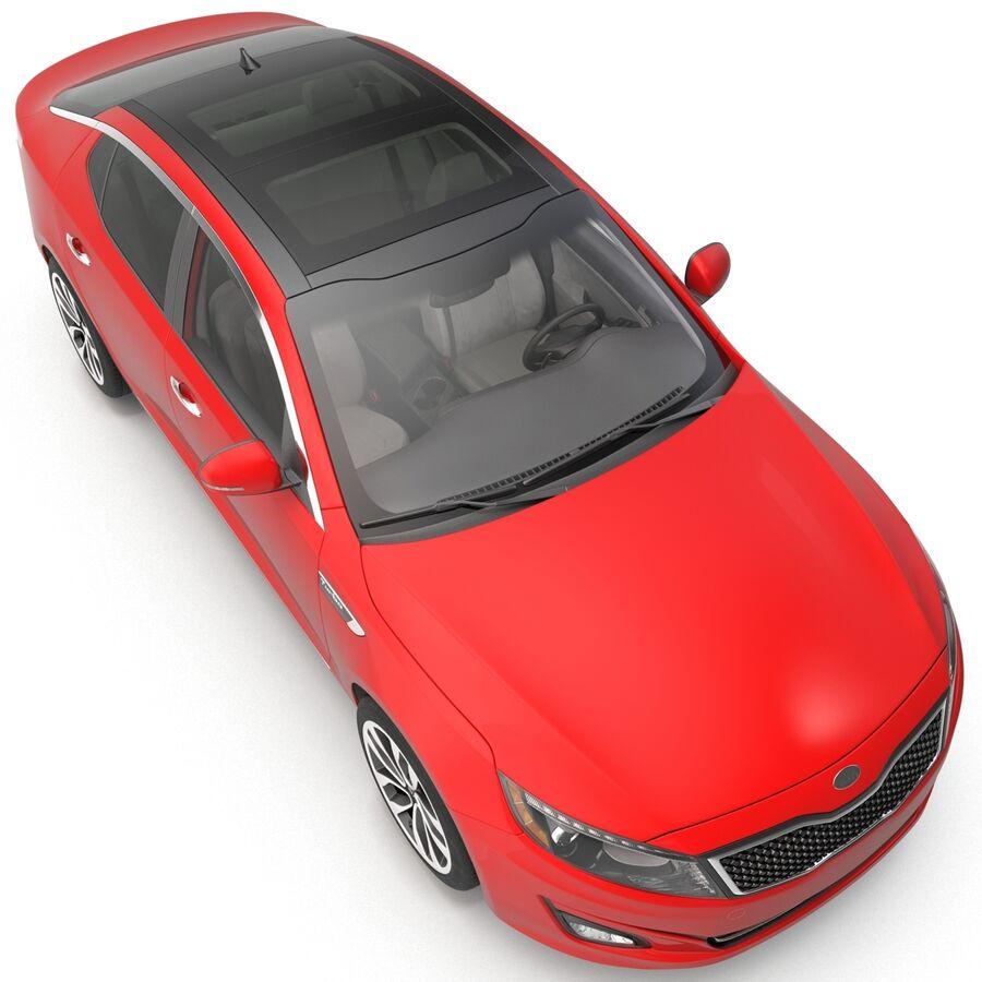 Kia Optima 2014 2 manipuliert royalty-free 3d model - Preview no. 41