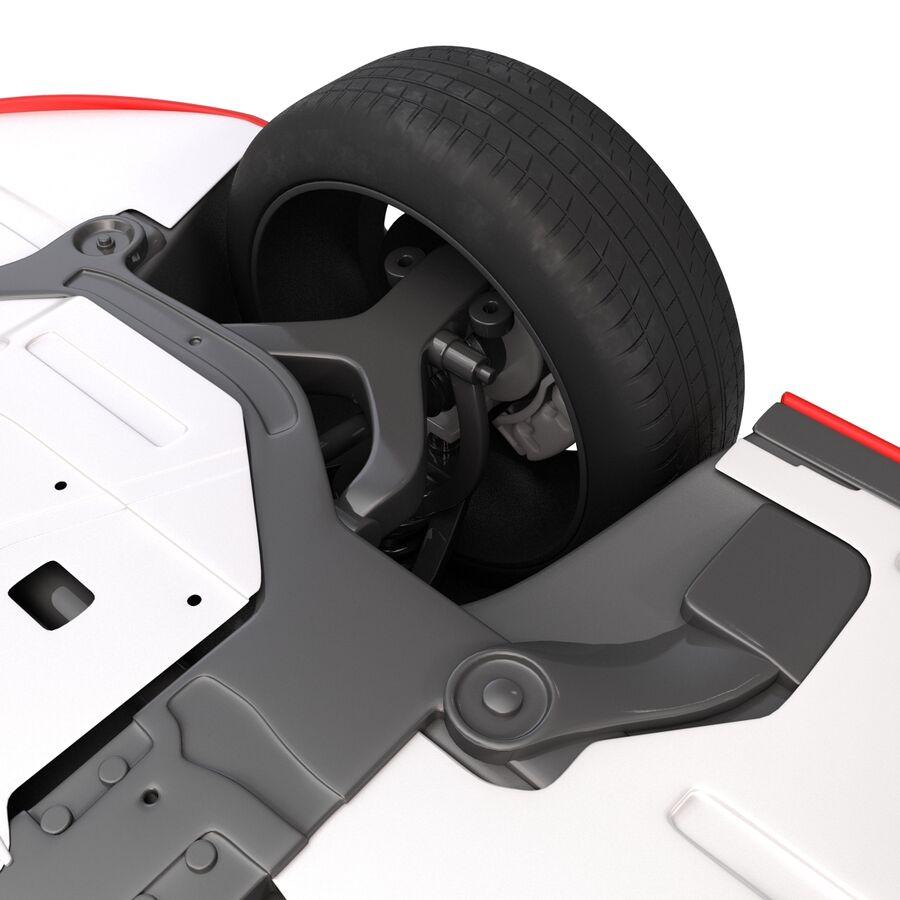 Kia Optima 2014 2 manipuliert royalty-free 3d model - Preview no. 33