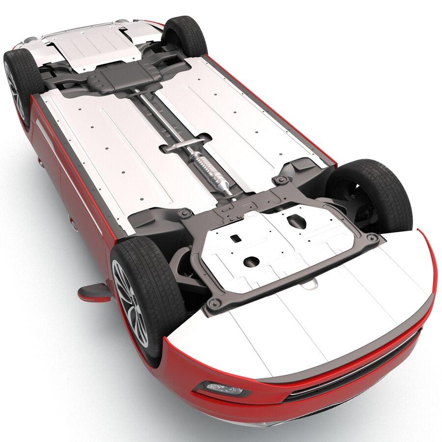 Kia Optima 2014 2 manipuliert royalty-free 3d model - Preview no. 27