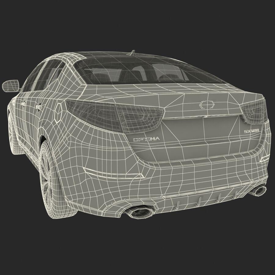 Kia Optima 2014 2 manipuliert royalty-free 3d model - Preview no. 106