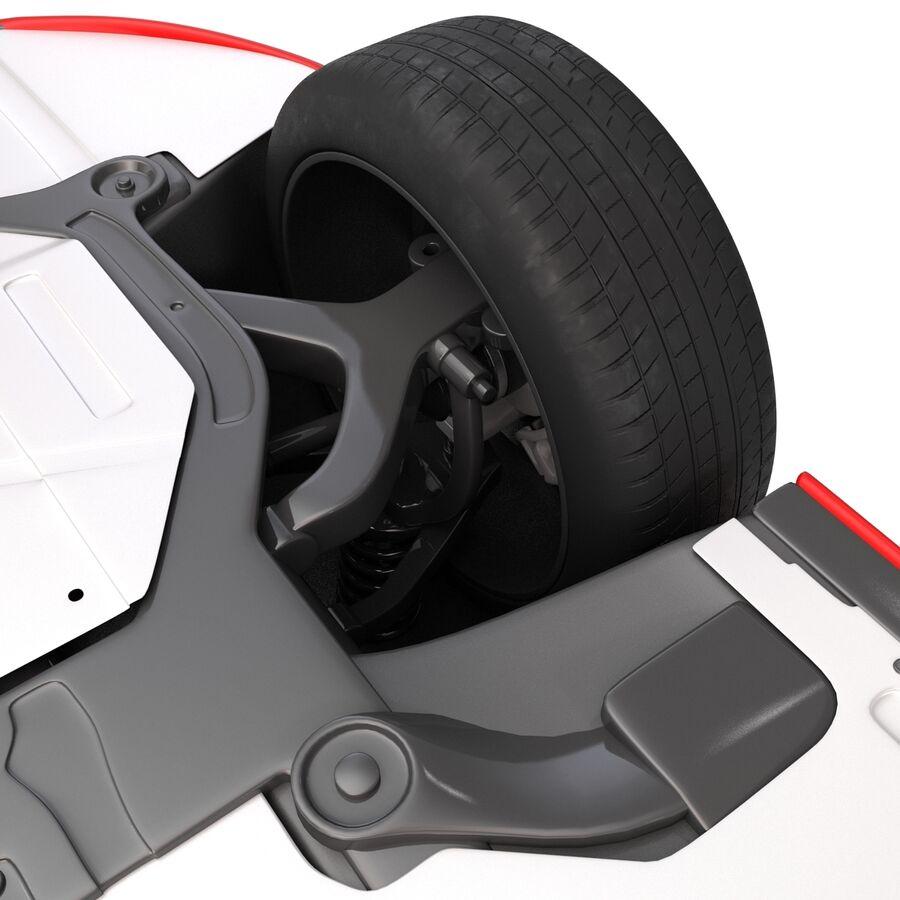 Kia Optima 2014 2 manipuliert royalty-free 3d model - Preview no. 30